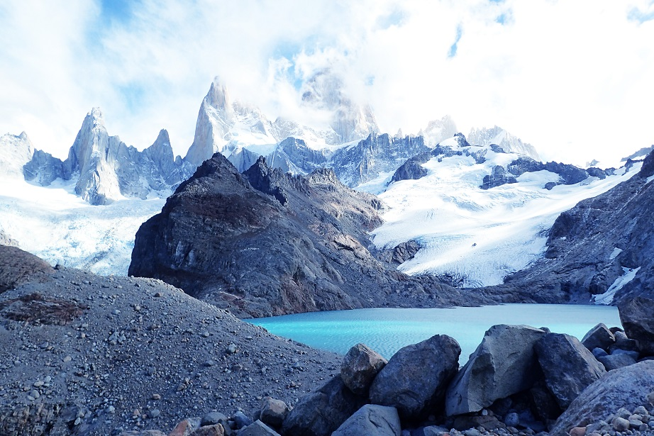 Lake Mount Fitz Roy Patagonia